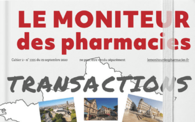 Le Tour du France du Marché, par le Moniteur des Pharmacies